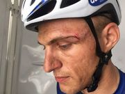 Андрей Гривко снят с Тура Дубая-2017 за удар лидера гонки Киттеля