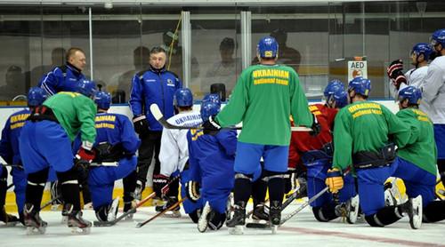 6 февраля сборная Украины проведет открытую тренировку