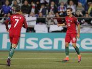Группа B. Португалия растоптала Фарерские острова