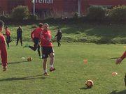 Василий Кравец провел первую тренировку в Испании