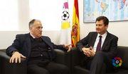 Посол Украины обсудил ситуацию вокруг Зозули с президентом Ла Лиги