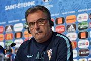 Чачич обсудил с хорватами игру сборной Украины
