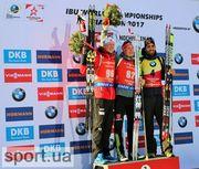 Бенедикт Долль выиграл спринтерскую гонку на чемпионате мира