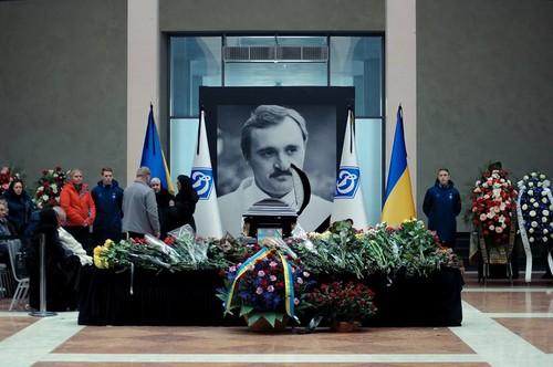 В Киеве простились с Виктором Чановым