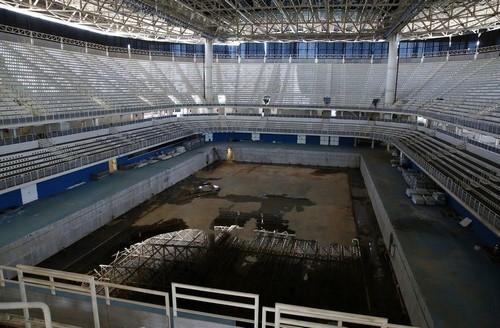 ВИДЕО ДНЯ. Печальная судьба спортивных объектов после Олимпиады в Рио