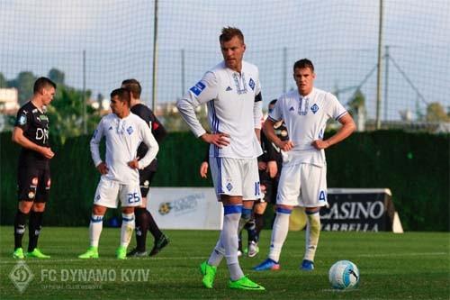 Динамо победило в последнем спарринге на сборах в Испании