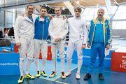 Украинские шпажисты завоевали серебряные медали на Кубке мира