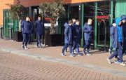 Игроки Динамо U-19 получили напутственную речь прямо в городе