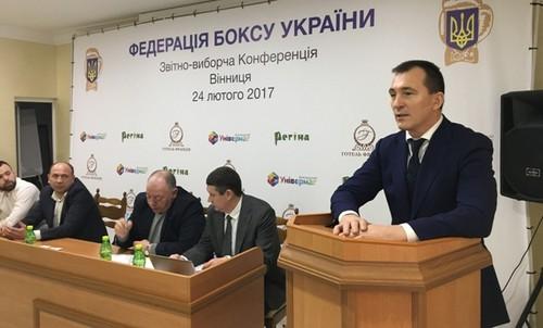 Владимира Продивуса переизбрали главой Федерации бокса Украины