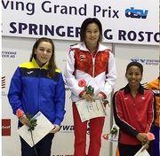 Вікторія Кесар – срібна призерка Гран-прі зі стрибків у воду