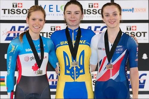 Басова и Климченко выиграли медали этапа Кубка мира