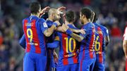 Барселона — Спортинг — 6:1. Видеообзор матча