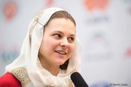 Музычук сыграла вничью четвертую партию финала на ЧМ