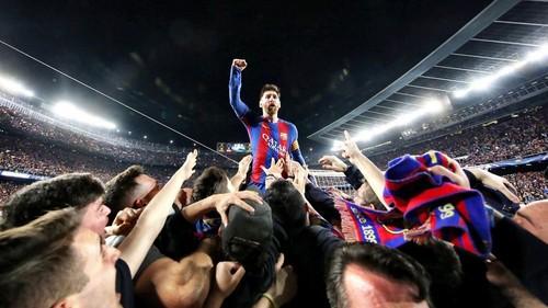 Барселона положила Париж на лопатки