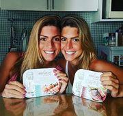 Бразильские синхронистки-близняшки Беатрис и Бранка Ферес