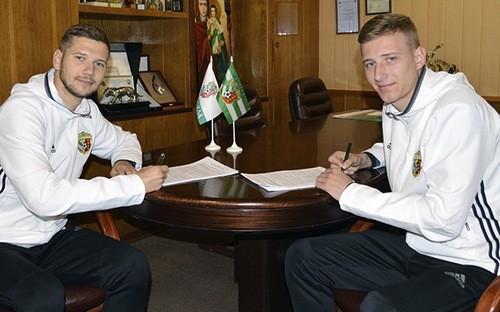 Ворскла продлила контракты с Одарюком и Кравченко