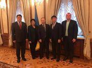 Президент FIG Моринари Ватанабе посетил Кубок Дерюгиной