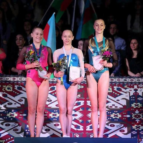 Украинские гимнасты завоевали две медали на этапе Кубка мира