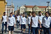 Как выглядит меню сборной Украины перед матчем с Хорватией