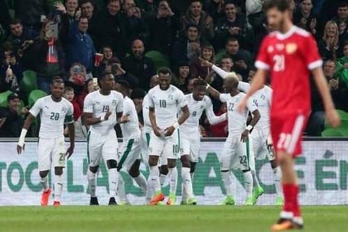 Сборная России уступила Кот-д`Ивуару в товарищеском матче