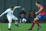 Арабидзе отличился голом в дебютном матче за сборную Грузии