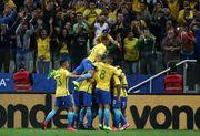 Сборная Бразилии первой квалифицировалась на ЧМ-2018