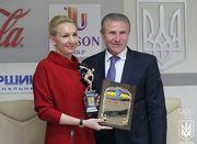Елена Пидгрушная в седьмой раз названа лучшей спортсменкой месяца