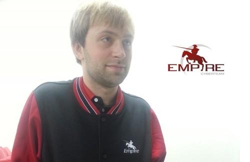 Ярослав «NS» Кузнецов - новый тренер Team Empire
