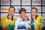 Українці здобули чотири нагороди на чемпіонаті Європи з велотреку