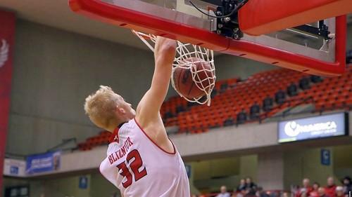 Богдан Близнюк зіграв на очах скаутів НБА