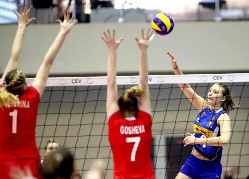 Чемпионками Европы U-17 стали волейболистки России
