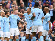 Манчестер Сити — Суонси Сити  - 5:0. Видео голов и обзор матча