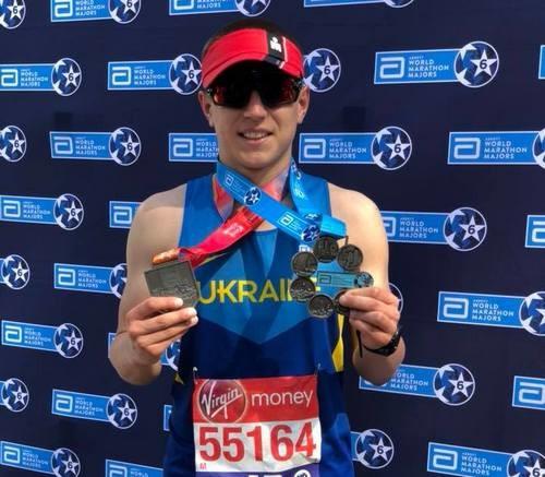 25-річний українець подолав всі марафони серії World Marathon Majors