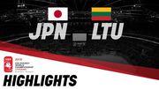 ЧМ по хоккею. Япония - Литва - 1:6. Видео голов и обзор матча