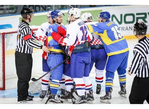 ЧМ по хоккею. Украина - Хорватия 2:4. Видео голов и обзор матча