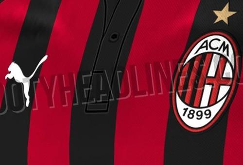 В Сеть попали первые фотографии новой формы Милана