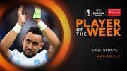 Пайет – игрок недели в Лиге Европы