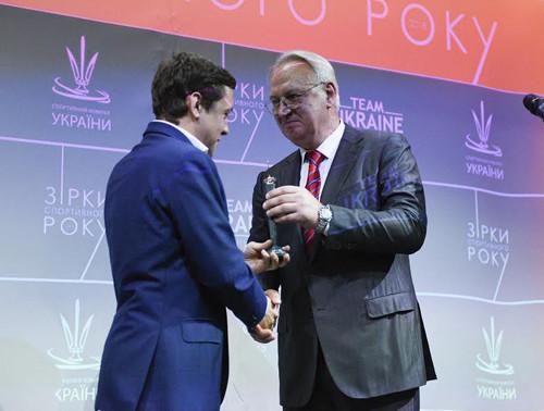 Асоціацію футзалу України визнано найкращою як Організатор року