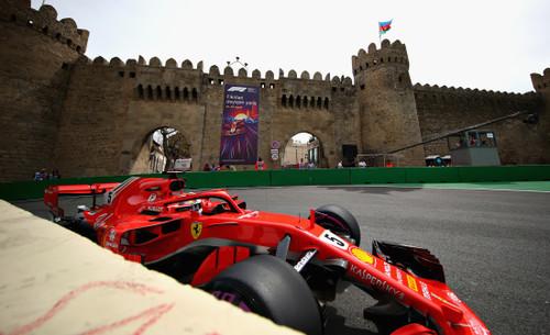 Третья практика в Баку. Феттель показал лучшее время