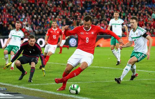 Швейцария сыграла вничью с Северной Ирландией и выходит на ЧМ