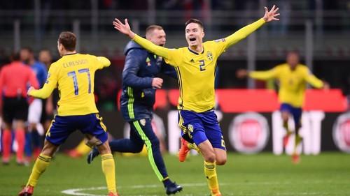 Италия — Швеция — 0:0. Видеообзор матча