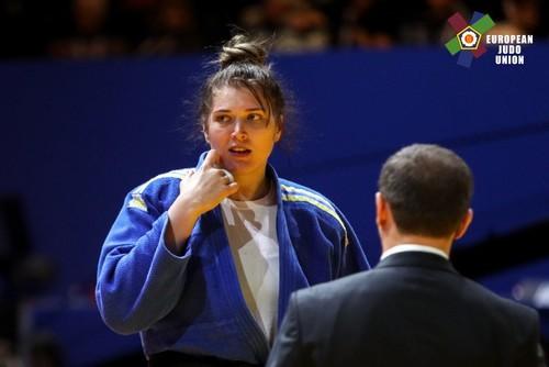 Дзюдоїстка Єлизавета Каланіна - краща спортсменка квітня в Україні