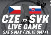 Где смотреть онлайн матч чемпионата мира. Чехия — Словакия