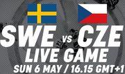 ЧМ-2018. Швеция – Чехия. Смотреть онлайн. LIVE трансляция