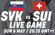 Где смотреть онлайн матч чемпионата мира. Словакия – Швейцария