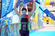 Бывший украинец выиграл кубок мира по триатлону для Азербайджана