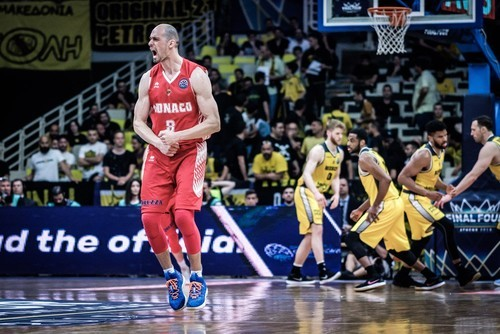 Монако Гладыря проиграл в финале Лиги чемпионов ФИБА