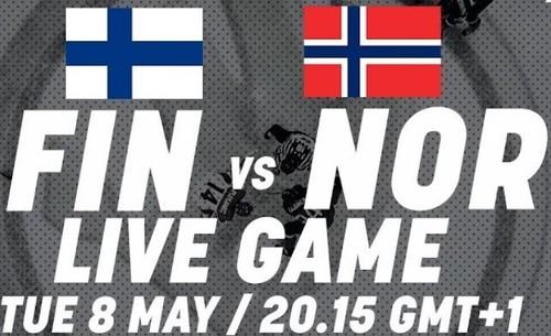 ЧМ-2018. Финляндия – Норвегия. Смотреть онлайн. LIVE трансляция