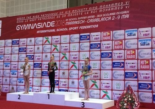 Юная львовянка победила на Всемирной Гимназиаде