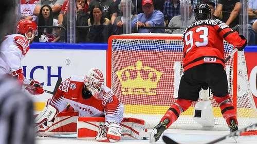 ЧМ-2018. Канада — Дания — 7:1. Видео голов и обзор матча